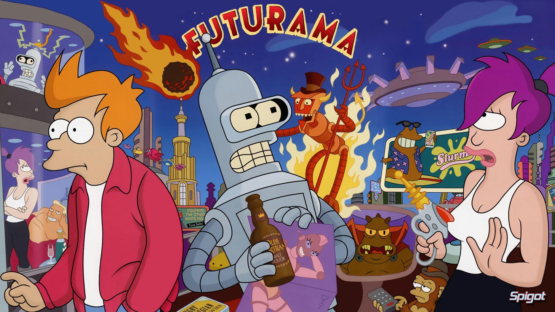 futurama cartoon shows cartoon characters adult cartoons futurama naruto science fiction