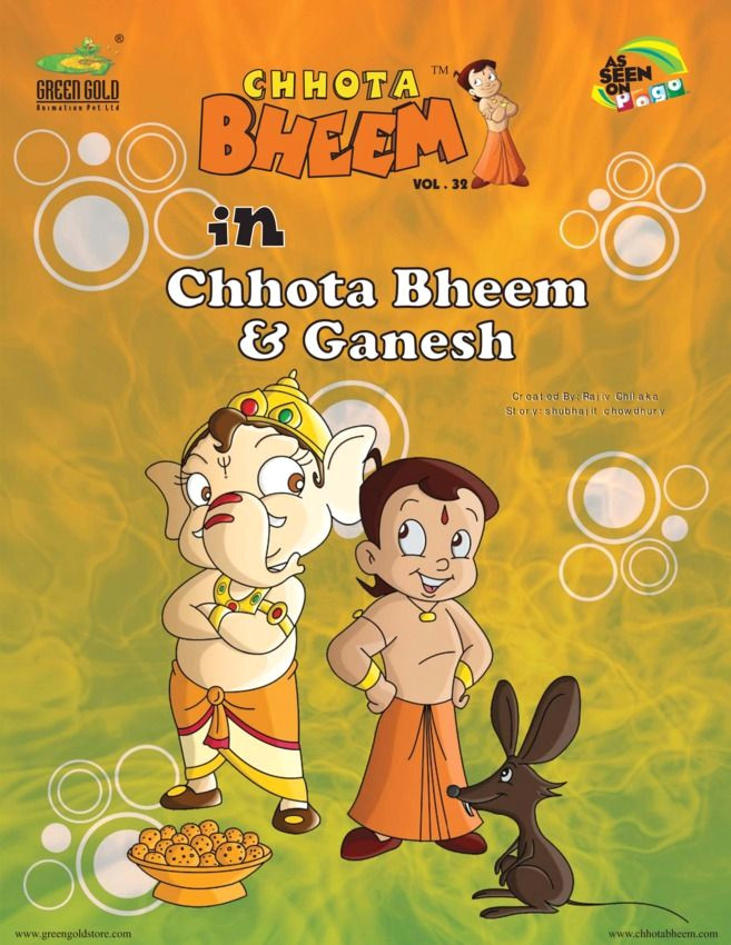 chhota bheem vol 32 chhota bheem ganesh edition read the digital edition by magzter on your ipad iphone android tablet devices windows 8 pc