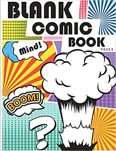 blank comic book pages draw your own comics with variety of templates 110 pages 8 5 x 11 inches blank comic books panel for kids blank comic book