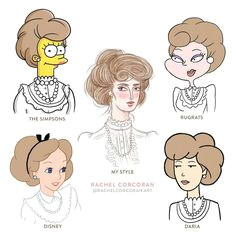 draw your own style followed by the styles of popular cartoons stylechallenge art style challenge