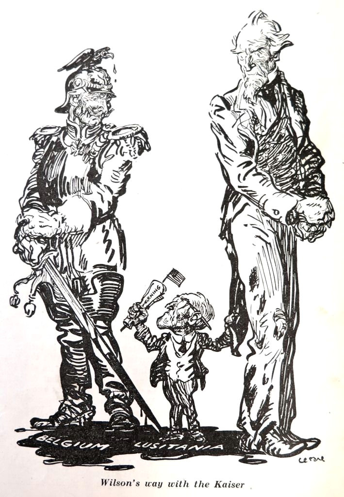 wwi political cartoon visual studies collection library of virginia
