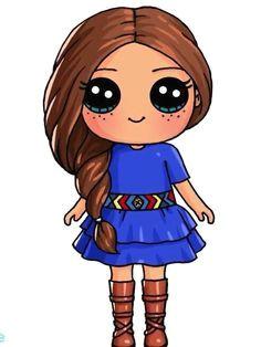 resultado de imagem para princesas fofas de olho kawaii bonequinhas disney kawaii cute kawaii drawings