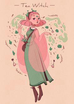 tea witch by lana jay on http artcorgi com utm source