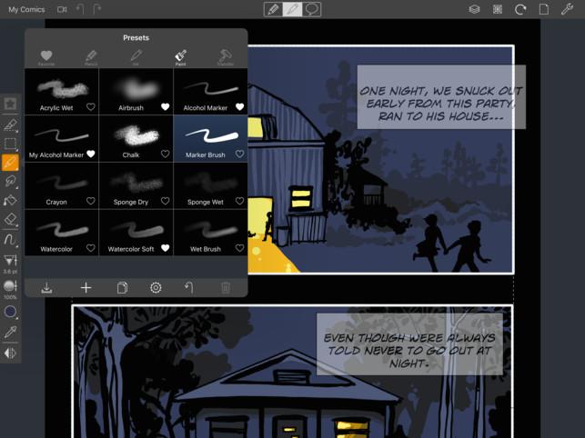 comic draw by plasq 4