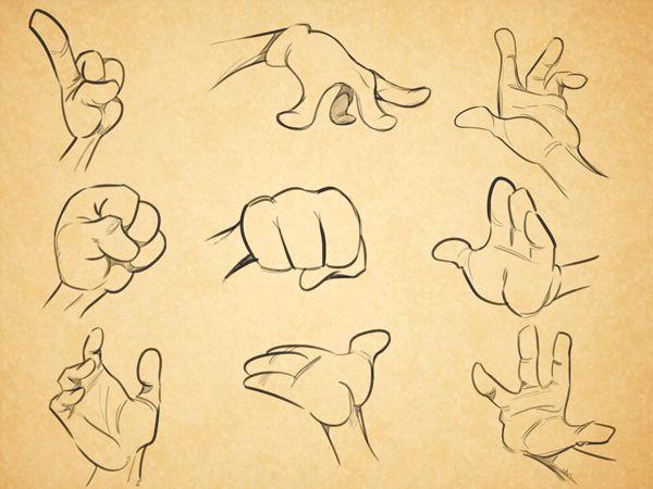 cartoon fundamentals how to draw cartoon hands hand drawing pinterest drawings cartoon drawings and cartoon