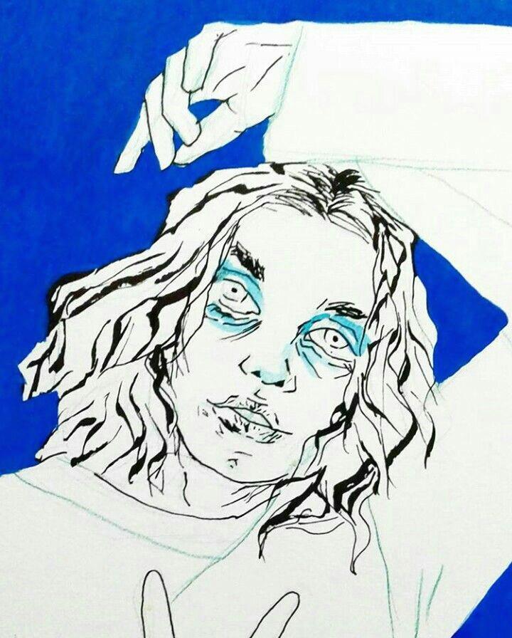 straight fringes comic tutorial board art art history creepy oc