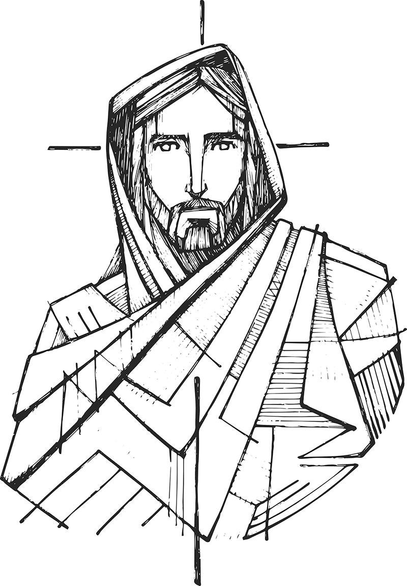 bildergebnis fur drawing cartoon of jesus