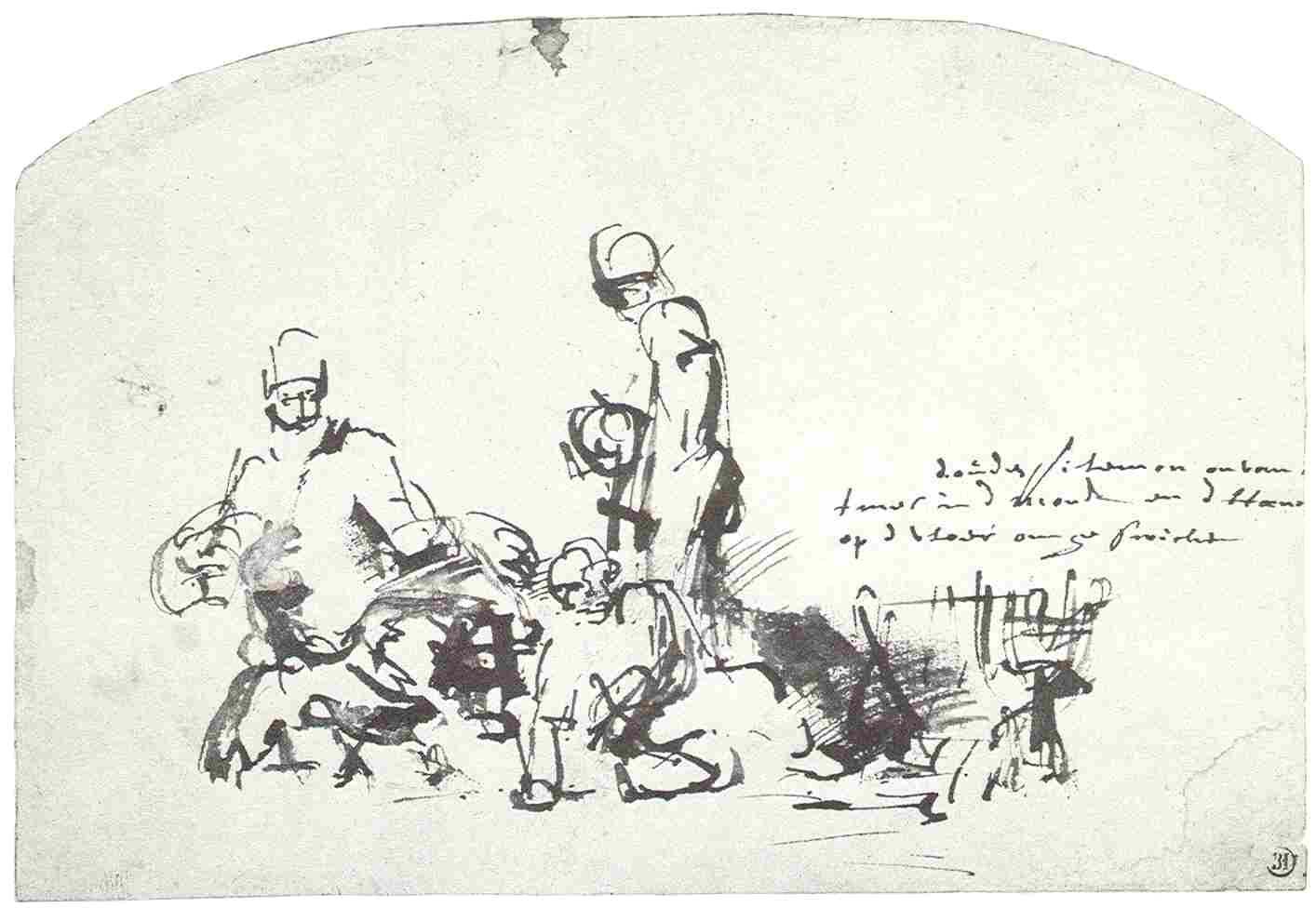 Cartoon Drawing Jupiter File Rembrandt Jupiter with Philemon and Baucis Jpg Wikimedia Commons