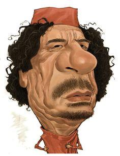 moammar gadhafi caricatures politiques muammar gaddafi political art cartoon drawings politicians