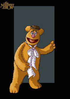 fozzie bear the muppet show by nigbtwing1975 deviantart 70s cartoons classic cartoons