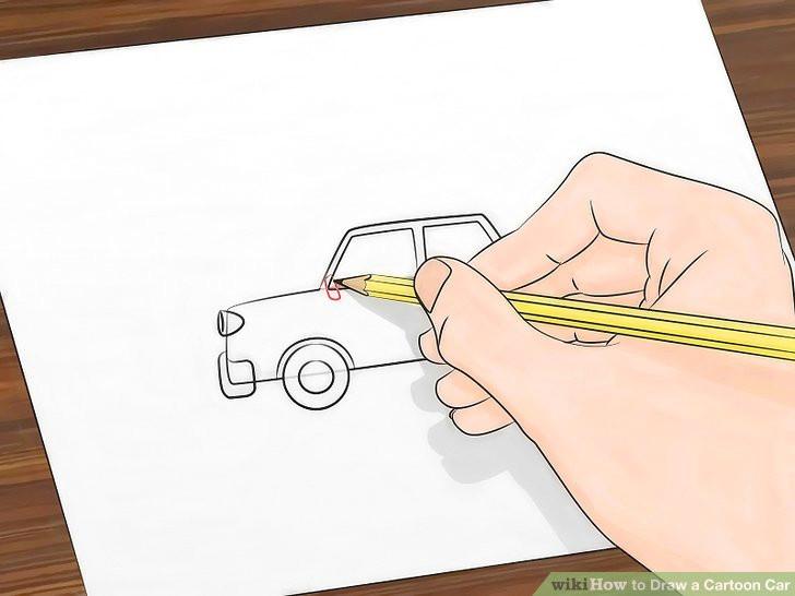 image titled draw a cartoon car step 6