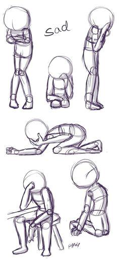 cartoon anatomy poses part 1 tutorial