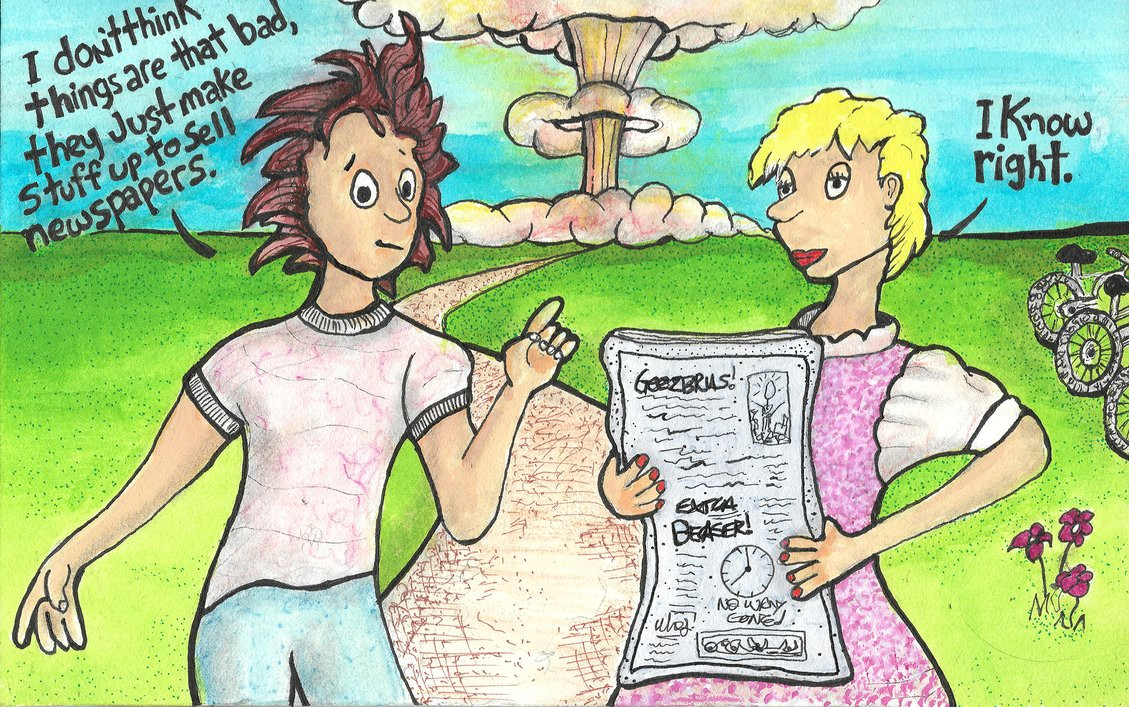 Cartoon Drawing Newspaper Newspapers I Know Right by Concubane On Deviantart