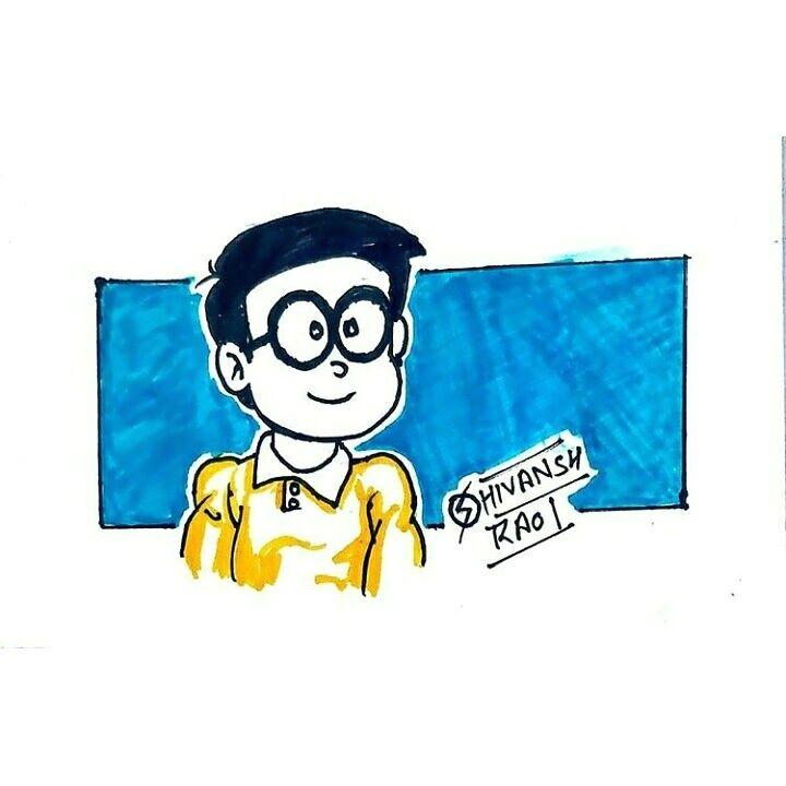 nobita fan art