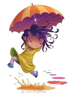 rainy dayz rain umbrella meteorology nature sounds color illustration it s