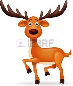 deer cartoon vector deer cartoon royalty free photos holiday christmas animal drawings