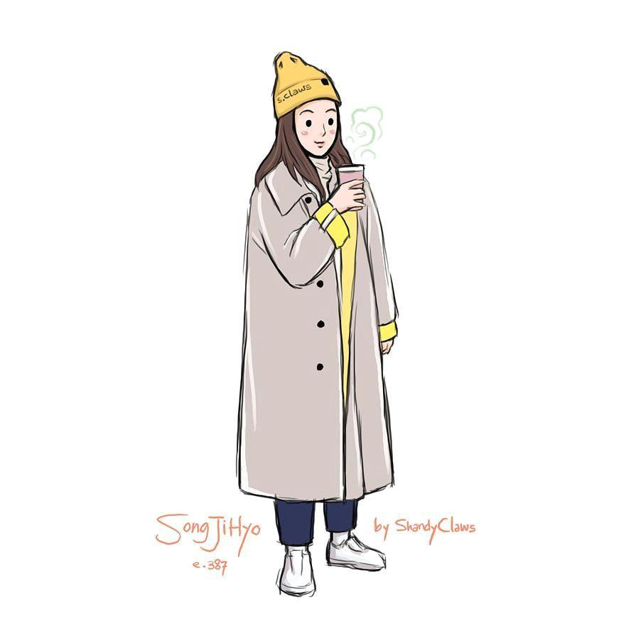 Cartoon Drawing Running Man song Ji Hyo A Running Man E 387 Shandyclaws Running Man Ji Hyo
