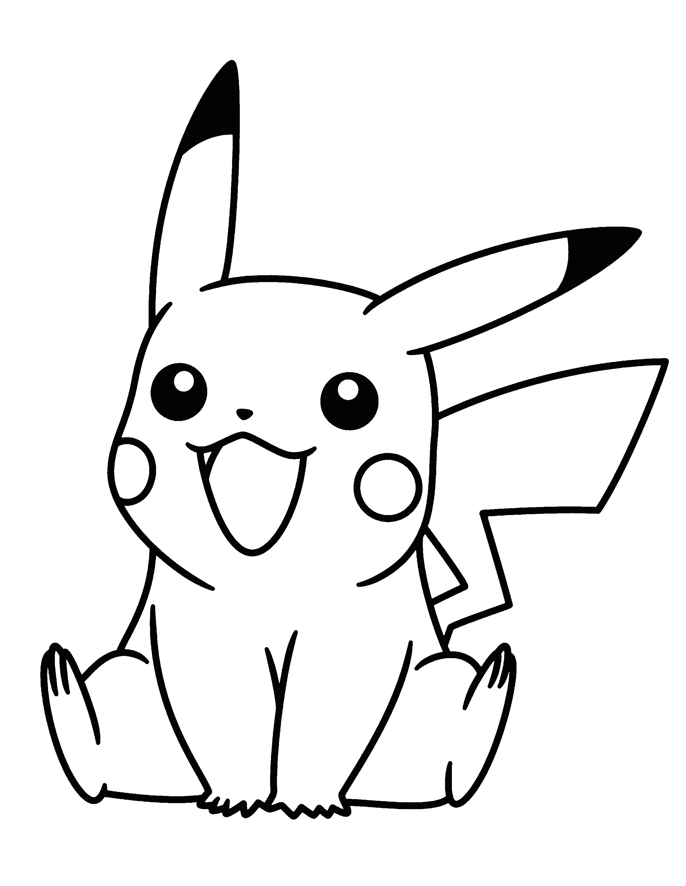 pikachu coloring page pokemon colouring pages cartoon coloring pages free coloring coloring
