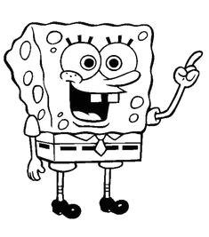 free printable spongebob squarepants coloring pages