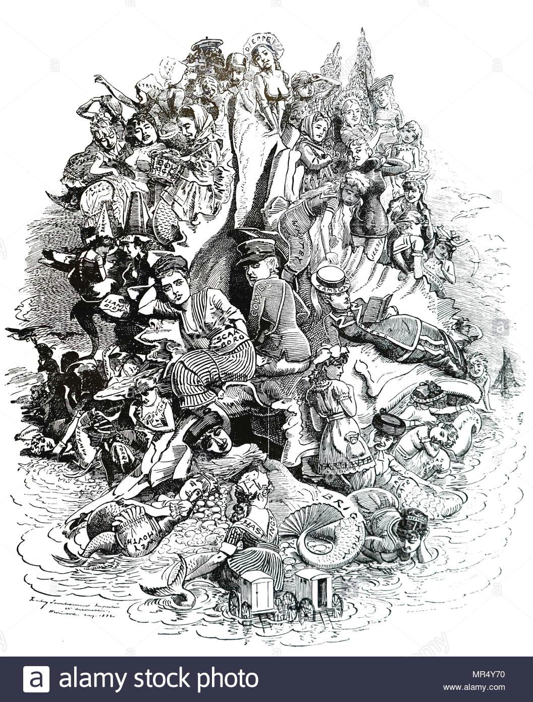 cartoon kommentieren britischen badeorte jedes gegebene bedeutung die er an der zahl der besucher