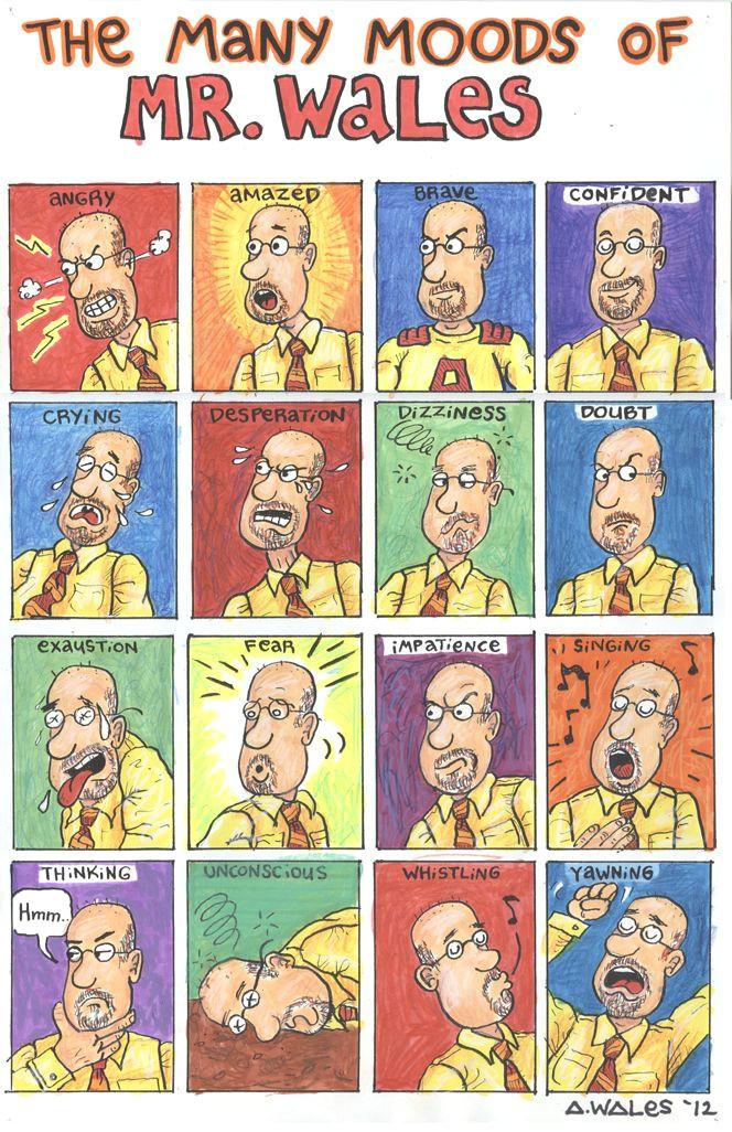 cartoon expressions