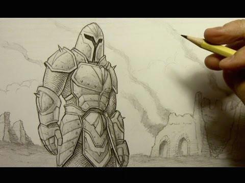 Cartoon Drawing Tutorials Youtube How to Draw Armor Youtube