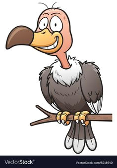 lili a clipart8 a cartoon vulture