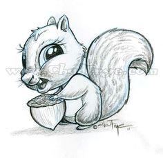 ardilla divertida disney pencil drawings disney sketches cartoon sketches pencil art drawing