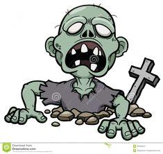 zombie tekenfilm zombie kunst halloweenkunst vintage halloween halloween projecten cartoons