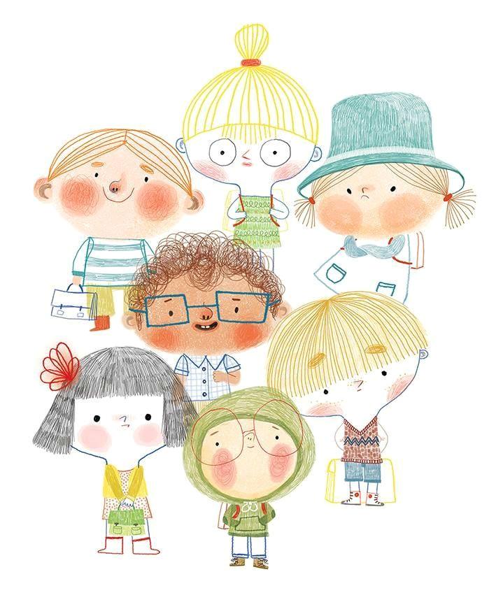 illustration on kids