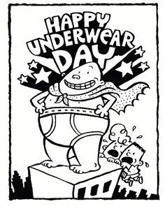 Cartoon Underpants Drawing 94 Best Captain Underpants Printables Images Captain Underpants