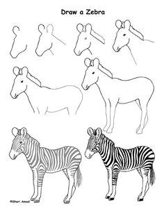 Cartoon Zebra Drawing Images 45 Best Zebra Drawing Images Zebra Art Zebra Drawing Zebra Painting