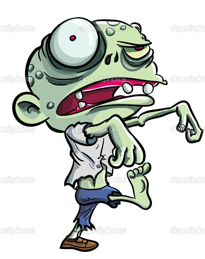 cute zombie cartoon google search