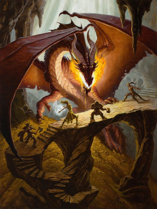 dungeons and dragons famous artwork google search
