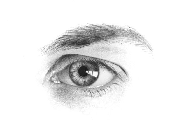 i could have a whole board just for drawing eyes they have so much detail and are so crucial to a portrait
