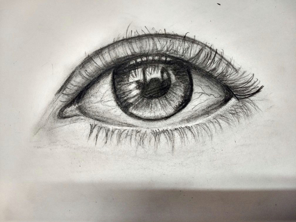 Charcoal Drawing Of An Eye My First attempt to Draw An Eye Eye Eye Drawing Charcoal Pencil