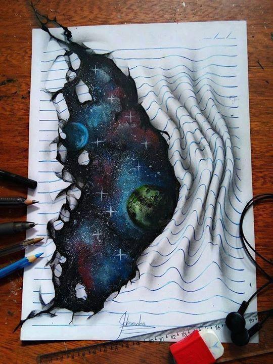 creative 3d drawing works by joa o a carvalho