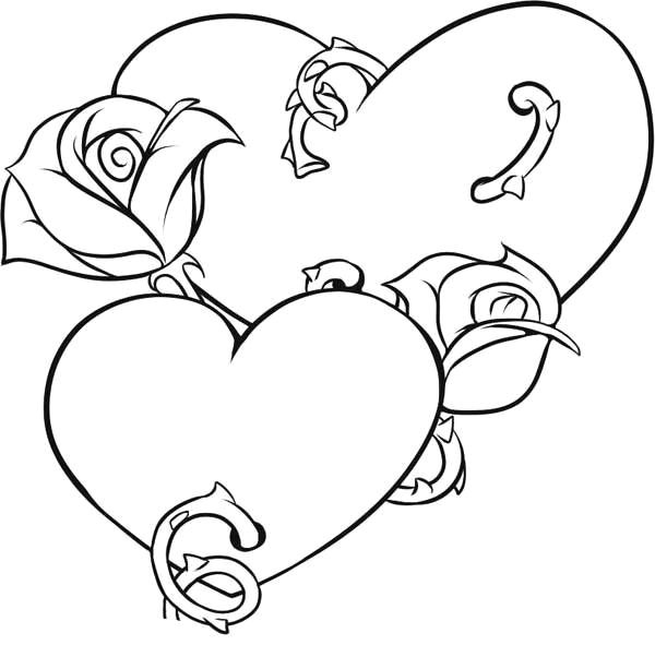 coloring pages of hearts and flowers elegant vases flower vase coloring page pages flowers in a