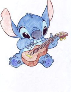 cute sketches of stitch as elvis google search