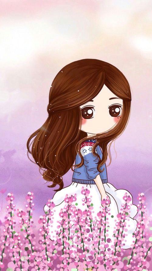 Cute Drawing Girl Wallpaper Girl Image Cute Girl Cute Beautiful Anime Girl Cute Drawings