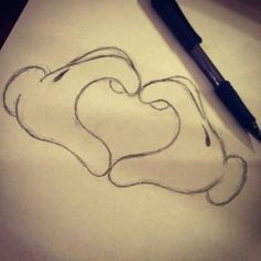cute disney drawing i love how simple this is it would be great as