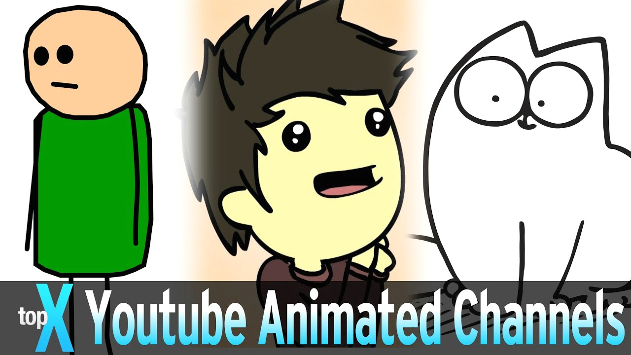 Cute Drawing Ideas Youtube top 10 Youtube Animated Channels topx Ep 28 Youtube
