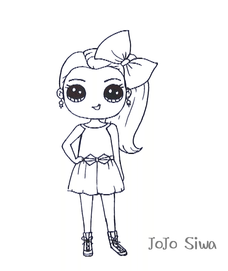 jojo siwa coloring sheets free not pritable be cause i cant print it becase i can not print it it not leting me