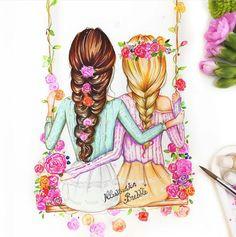 uniikawaii bff drawings tumbler drawings drawings for best friends cute drawings