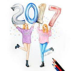 2017 is coming best friend sketches friends sketch best friend drawings bff drawings