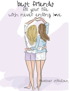 best friend quotes cards for friends by rosehilldesignstudio