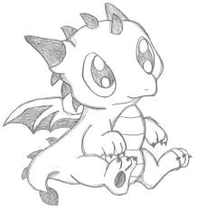 image result for easy to draw baby dragons more easy dragon drawings cute dragon drawing
