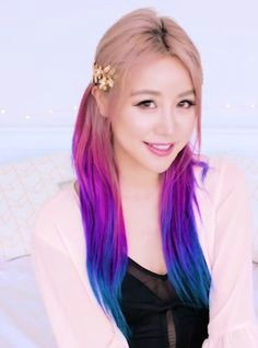 hair colours wengie hair pretty hair color emo hair unicorn hair fantasy