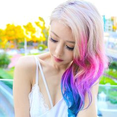 wengie hair perfect hair color ombre hair dyed hair hair inspo hair goals cute hairstyles youtubers mac book
