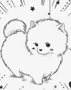 yukiyanatsuko chibi dogcute drawings